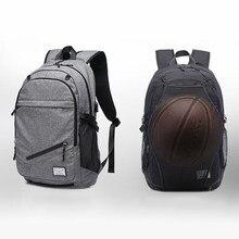De los hombres al aire libre deportes de baloncesto mochila bolsas para la  escuela adolescente niños 2836ec7e74597