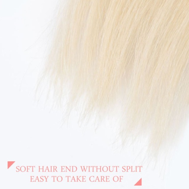 Blonde Straight 100% Human Hair For Salon