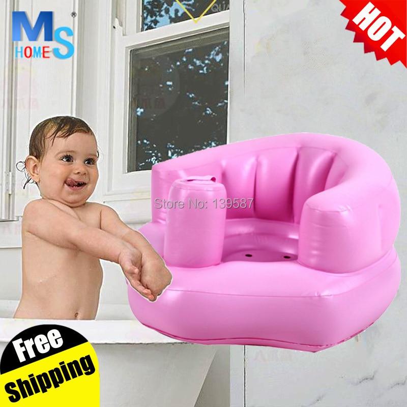 Top qualityinflatable baby chair for feeding Portable Bath chair ...
