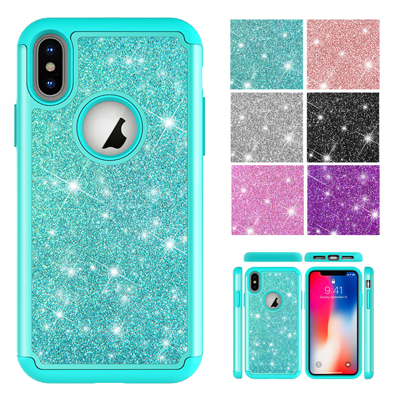 Dutiful Eleteil Glitter Sequins Case For Iphone Xs Max Xr Iphone 7 8 Plus Phone Cases For Iphone 6 6s Plus X Silicone Cover 8 Plus E40 Cool In Summer And Warm In Winter Cellphones & Telecommunications