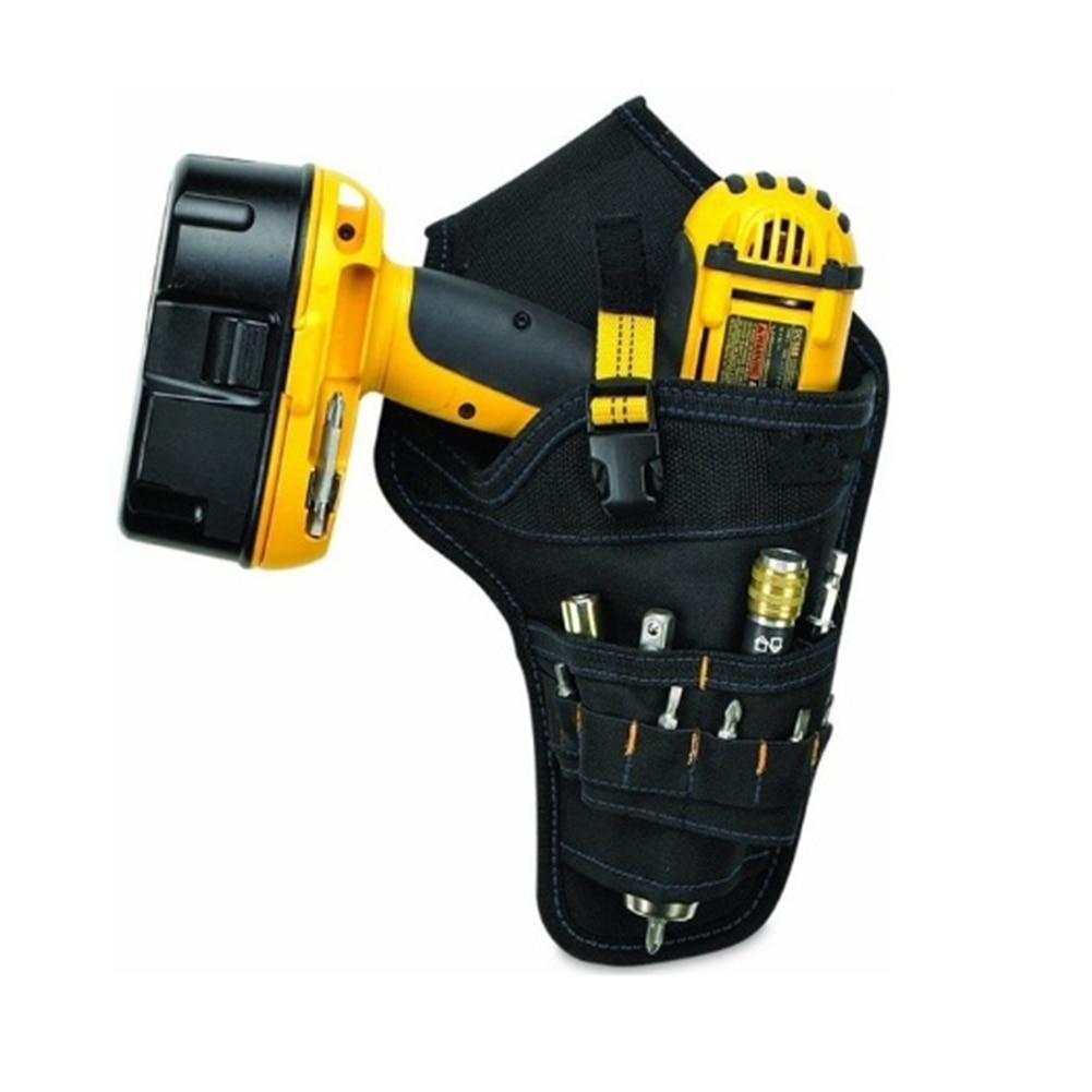 Belt Pouch Waist Cordless Drill Storage Pocket