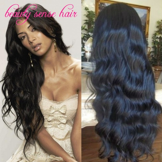 Unprocessed Brazilian Virgin Full Lace Human hair wigs with baby hair Glueless Body Wave Lace Front Wigs for black women