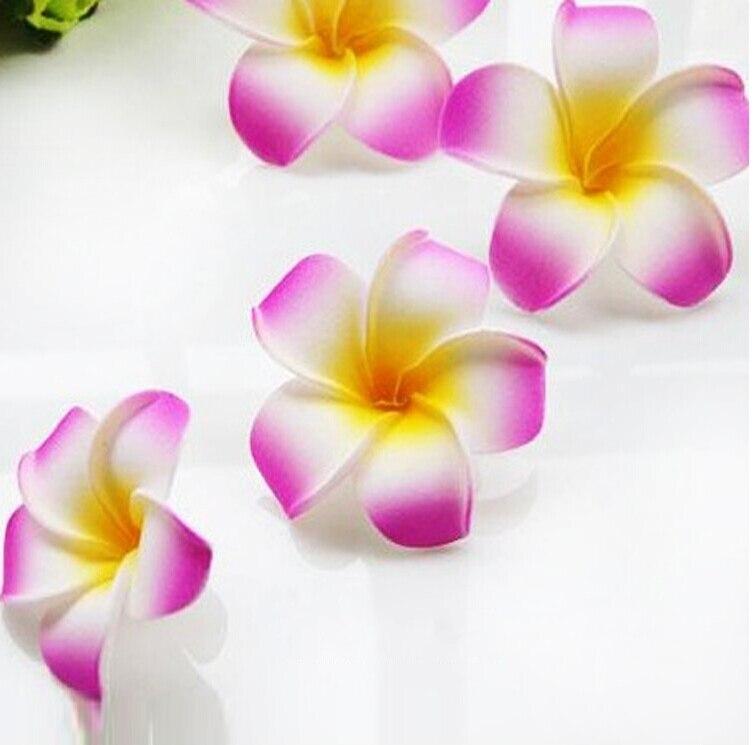 6 см Искусственный Плюмерия acutifolia PE Франгипани цветы, Рождественские Свадебные украшения орнамент, реквизит для фотографий, 200 шт