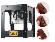 2017 hot USB DIY Laser Engraver machine Printer Cutter Engraving Machine 1000mW NEJE DIY Laser Carving Machine Protective Glass