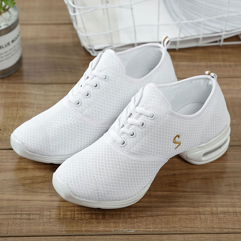 MWY Ladies Shoes Modern Jazz Dance Shoes Zapatos Salsa Mujer Baile Latino Sneakers Dance Shoes Women Practice Dance Shoes