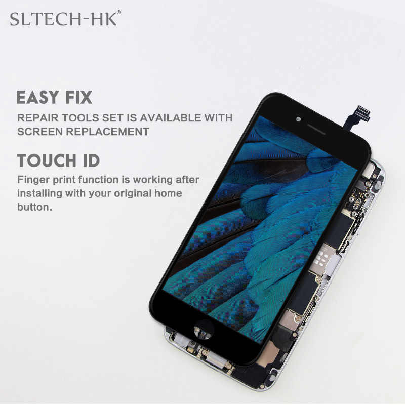 AAA + + + עבור iPhone 6 6S 7 8 בתוספת LCD תצוגה עם 3D מגע מסך עצרת החלפה עבור iPhone 5 5C 5S 5SE לא מת פיקסל
