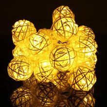 2 Meter 20 Leds Balls LED String Fairy Lights Garden Christmas Wedding Party Decoration Lights