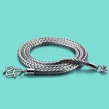 Винтаж 925 тайский серебряное ожерелье, дизайн моды серебряная цепочка ожерелье, 3.5 мм серебряное ожерелье, мужчины special серебряные ювелирные изделия