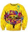 Трип Губы Толстовка потрясающие удобные пот осветить некоторые куш 3d Печати Модная Одежда Перемычки Наряды Толстовки Плюс Размер