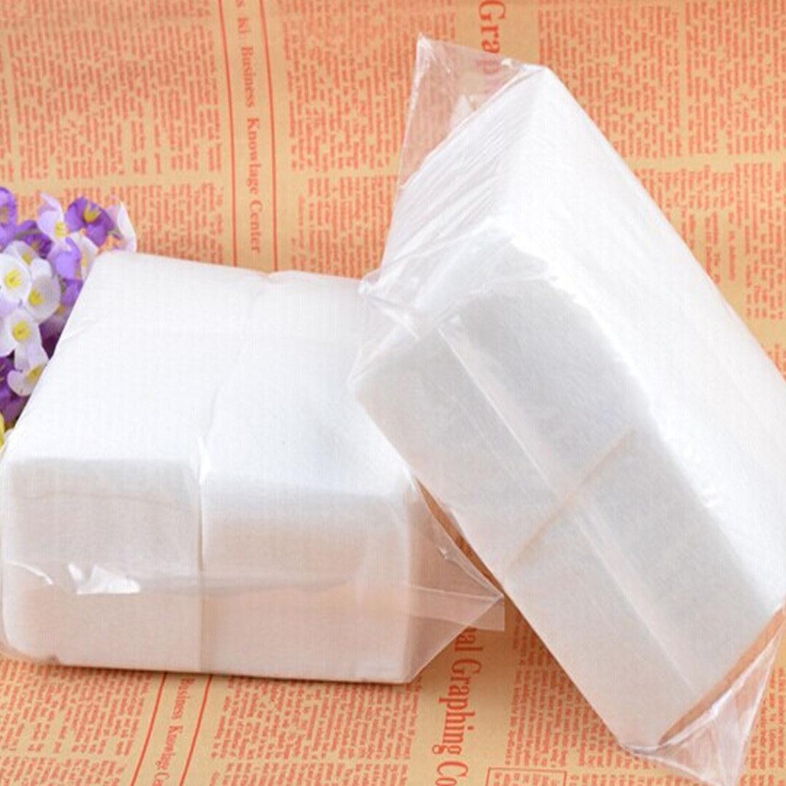 400pcs/set New Portable Nail Art Wipes Manicure Polish Wipes Cotton Lint Cotton Pads Paper Acrylic Gel Tips