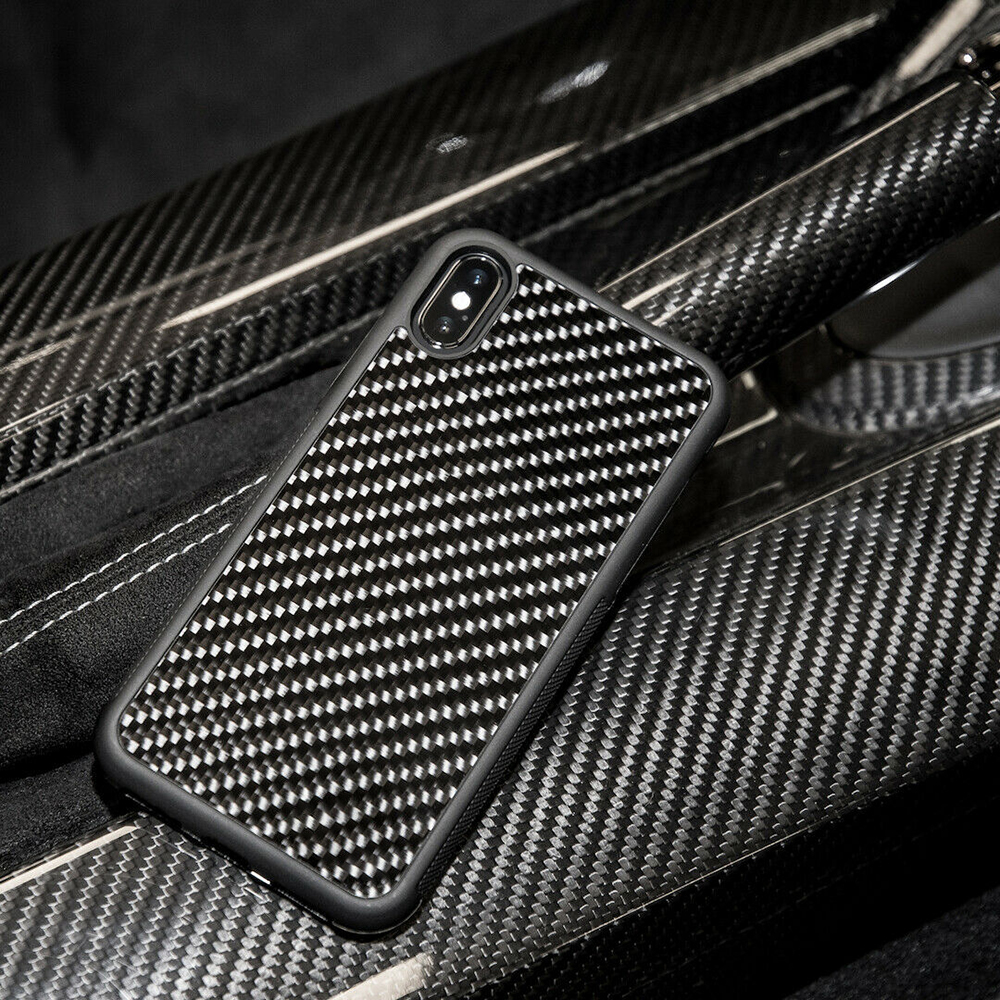 Real Carbon Fiber Fall Ultra Hybrid Entwickelt für Apple iPhone Xs Xs MAX Entwickelt für Apple iPhone 7 8 7 plus 8 Plus X XR Fall
