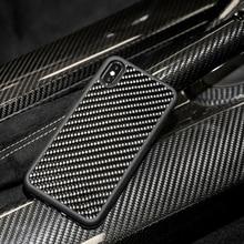 Чехол из настоящего углеродного волокна, Ультра Гибридный, предназначен для Apple iPhone Xs MAX, предназначен для Apple iPhone 7 8 7 Plus 8 Plus X XR, чехол
