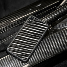 Funda de fibra de carbono Real Ultra híbrida diseñada para Apple iPhone Xs MAX diseñada para Apple iPhone 7 8 7 8 X XR caso(China)