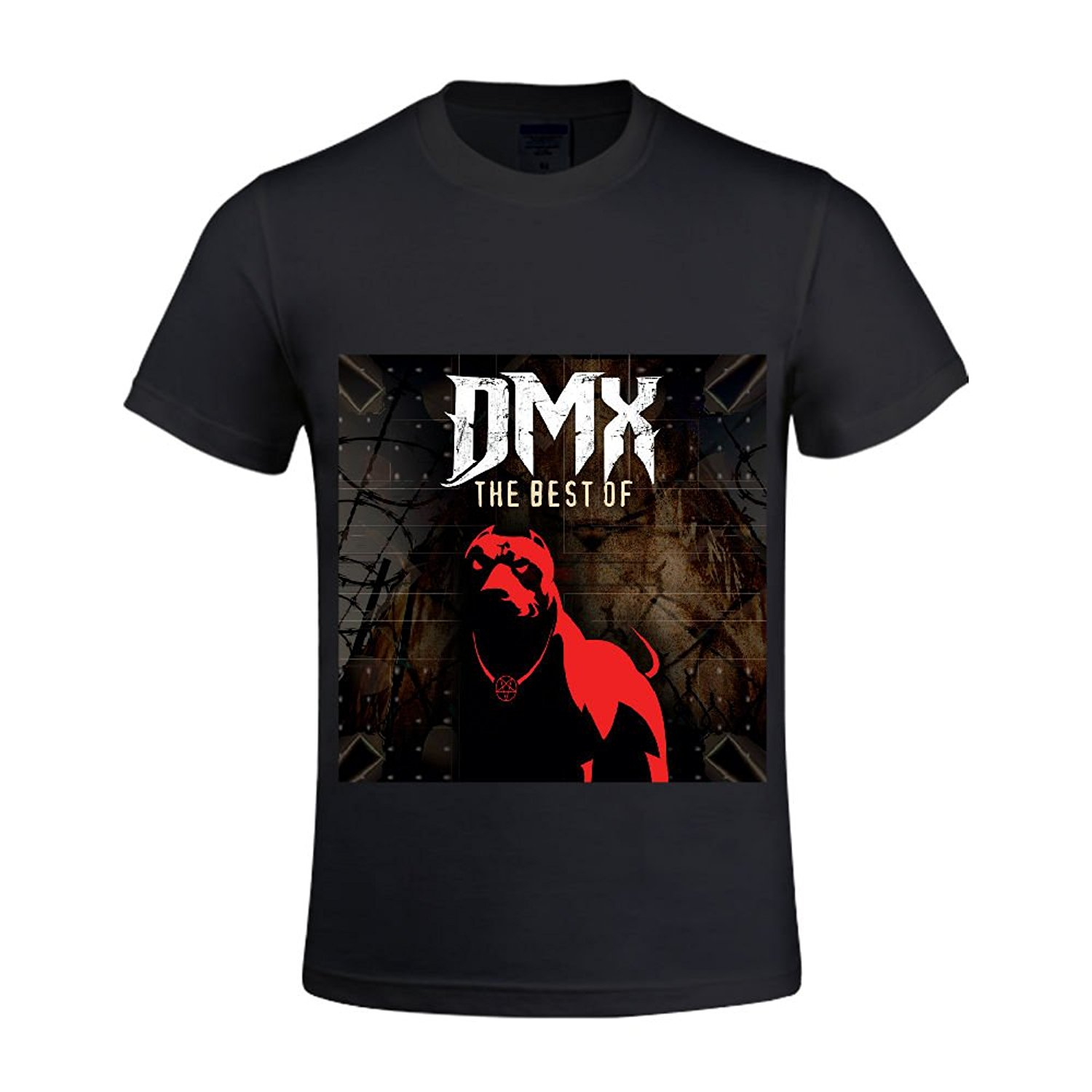 New DMX Ruff Ryders Anthem Rap Hip Hop Music Men 39 s Black T Shirt Size S To 3XL Summer Fashion Funny Print T Shirts in T Shirts from Men 39 s Clothing
