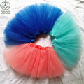 tutu skirt  girls tutu skirt Translucent 3-Layer Net Yarn Beautiful color skirts dance skirt cheap girls sport skirt MOQ 1 pc