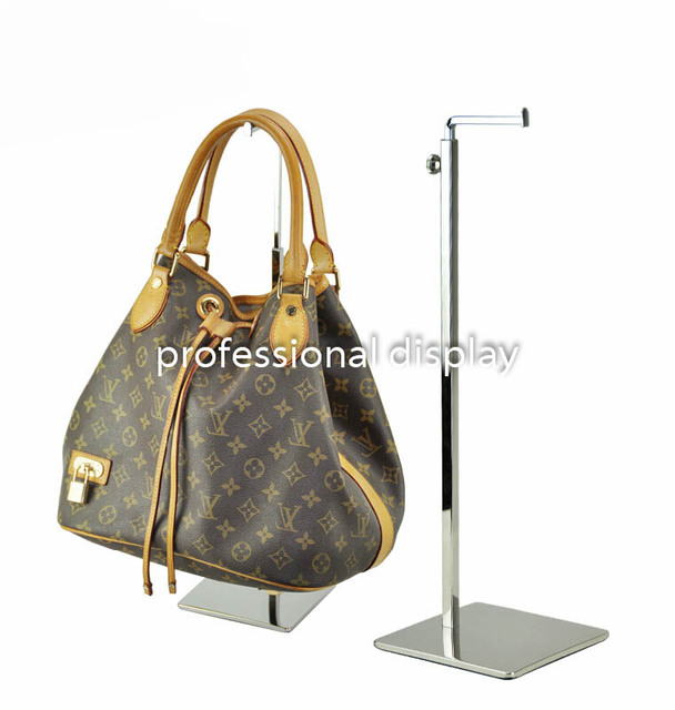 10pcs Stainless Steel Matte Mirror Bag Holder Hanger Showing Stand Adjule Hook