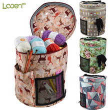 Yarn Knitting Bag Woolen Storage Home Use Crochet Hooks Thread Sewing Kit For Women Travel