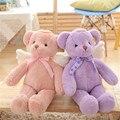 2016 New Teddy Bear with Wings Plush Toys Cute Angel Bear Stuffed Dolls Baby Kids Peluche Gift Pink Purple Beige Color