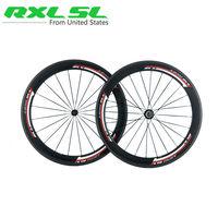 Fahrradräder Carbon Rad RXL SL 700C 23mm Breite 38mm 50mm 60mm Klammer Tubular Rennrad Räder Rennrad Laufradsatz 3 Karat road bike wheelset bike wheelsetbicycle wheels road -