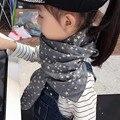Новый бренд осень Зима Звезда Chirldren хлопка шарфы шарф Детские Мальчиков и девочек Дети милые платки и шарфы