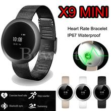Smartband X9 Mini Bluetooth Smart Band Health Wrist Bracelet Watch Heart Rate Monitor Swiming IP67 Waterproof for IOS Android