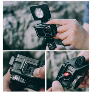Image 5 - PGYTECH OSMO ACTION Camera Cage Protective Case for DJI Osmo Action Sport Camera Frame Cover Shell Housing Accessories