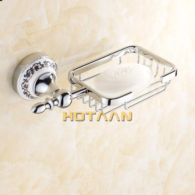 Free shipping,Stainless Steel + ceramic Bathroom Accessories Set,Robe hook,Paper Holder,Towel Bar,Soap basket,bathroom sets,