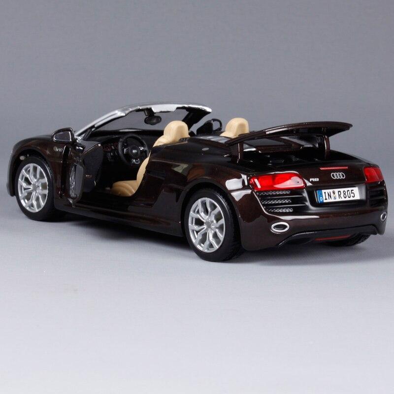 Maisto Audi R Convertible Sports Car Diecast Model Car Toy New - Audi sports car convertible