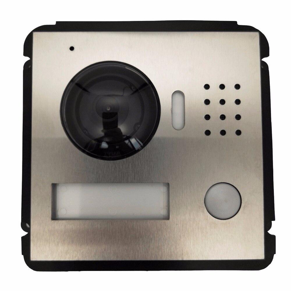 Sonnette de Module IP de Villa de VTO2000A-C multilingue d'ahua, interphone vidéo, interphone de porte, imperméabilisation, Station extérieure de Villa en métal de nuage