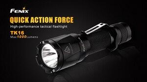 Image 2 - 2018 Новый Fenix TK16 Cree XM L 2 (U2) светодиодный фонарик 5 режимов Max 1000 люмен Водонепроницаемый спасательной Поиск тактический фонарь фонарик