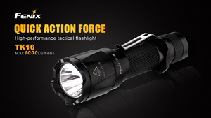 Image 2 - 2018 חדש Fenix TK16 Cree XM L 2 (U2) LED פנס 5 מצב מקסימום 1000 Lumens Waterproof הצלת חיפוש טקטי לפיד פנס
