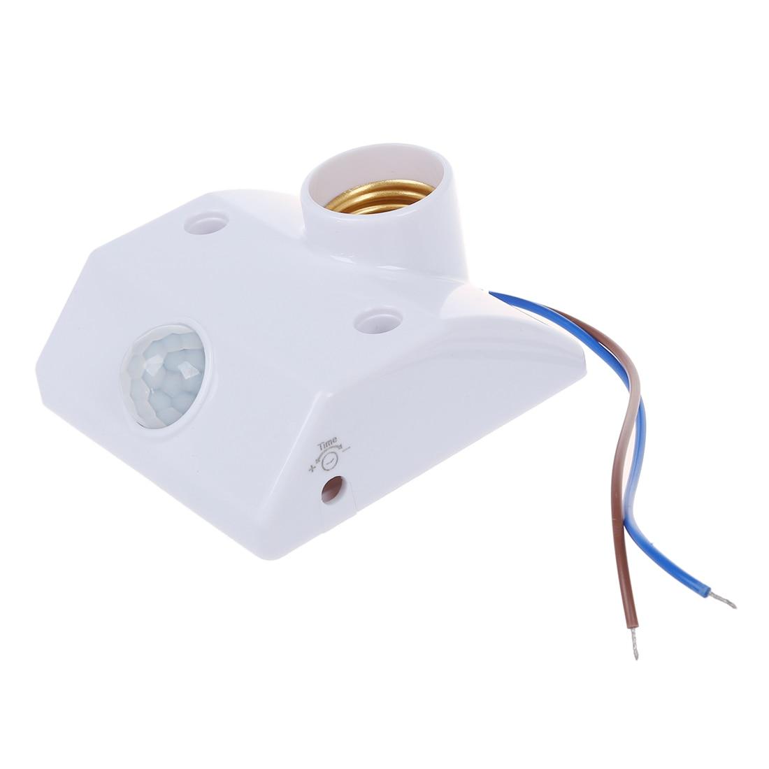 Base Socket IR Lamp Bulb Movement Detector