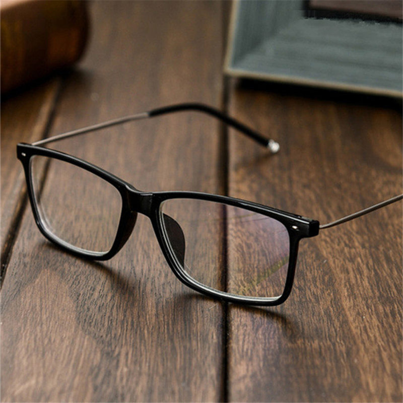 Oulylan Myopia Glasses Men Women Black Myopic Eyeglasses Short Sighted Eyewear Diopter Glasses +1.0 1.5 2.0 2.5 3.0 3.5 4.0