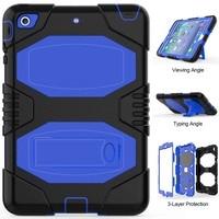 For Funda IPad Mini Cover Kid Heavy Duty Full Body PC Rugged Hybrid Protective Shell Case