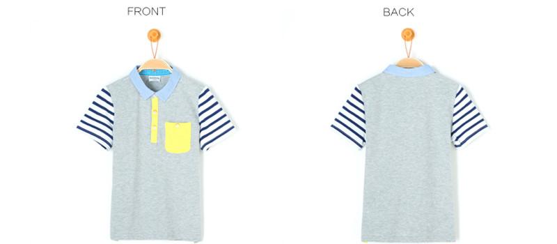 450a230d2f7cc4 Cotton Style Short Sleeve Shirts Children Baby Polo Shirt Tshirt ...