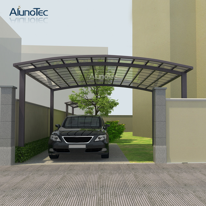 Carport Aluminum Canopy Polycarbonated Roof Cover Sized 5 5m Length X 6m Width X 3m Height Garages Canopies Carports Aliexpress