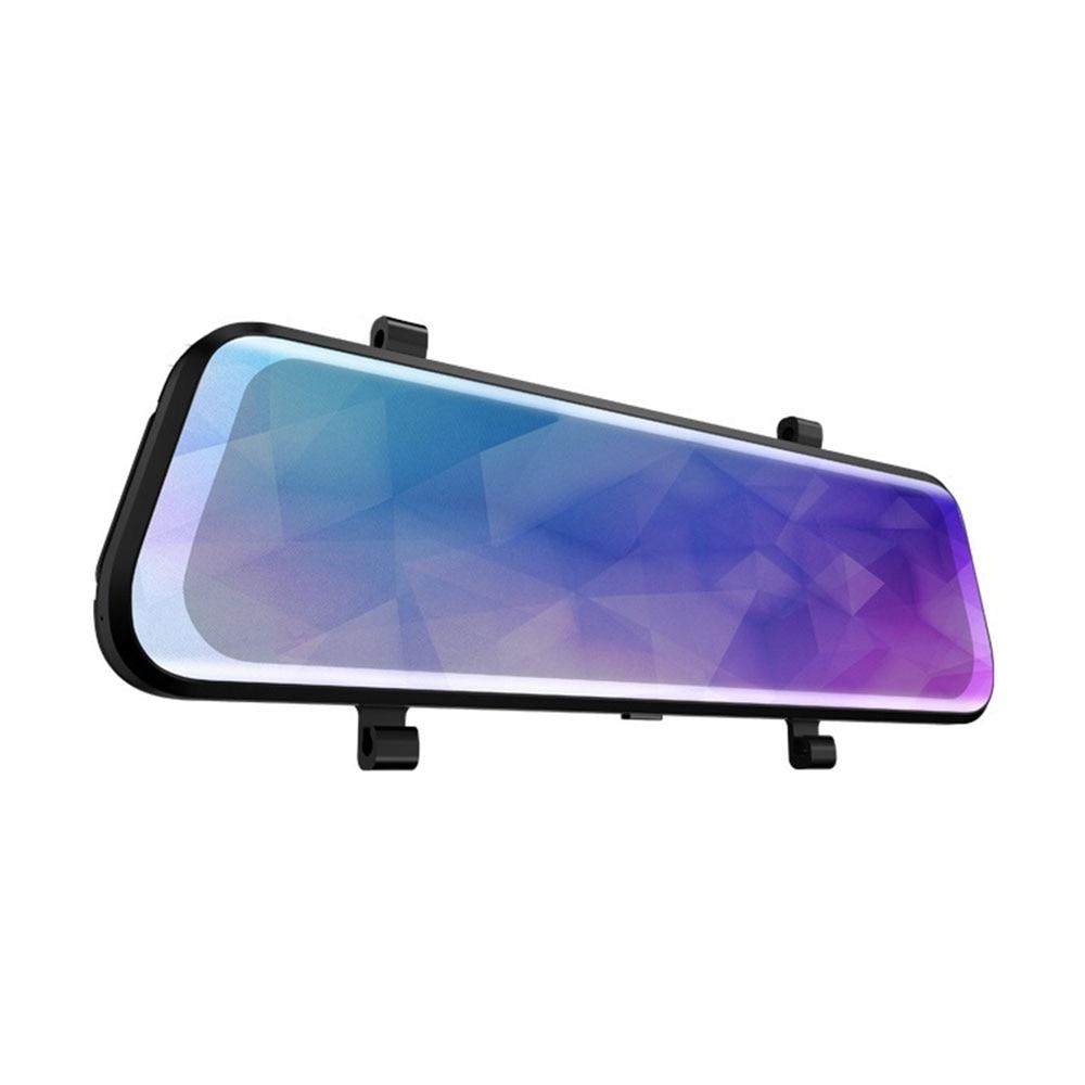 Видеорегистратор для автомобиля портативный видеорегистратор для вождения камера ночного видения двойной объектив зеркало заднего вида потоковый медиа ультратонкий