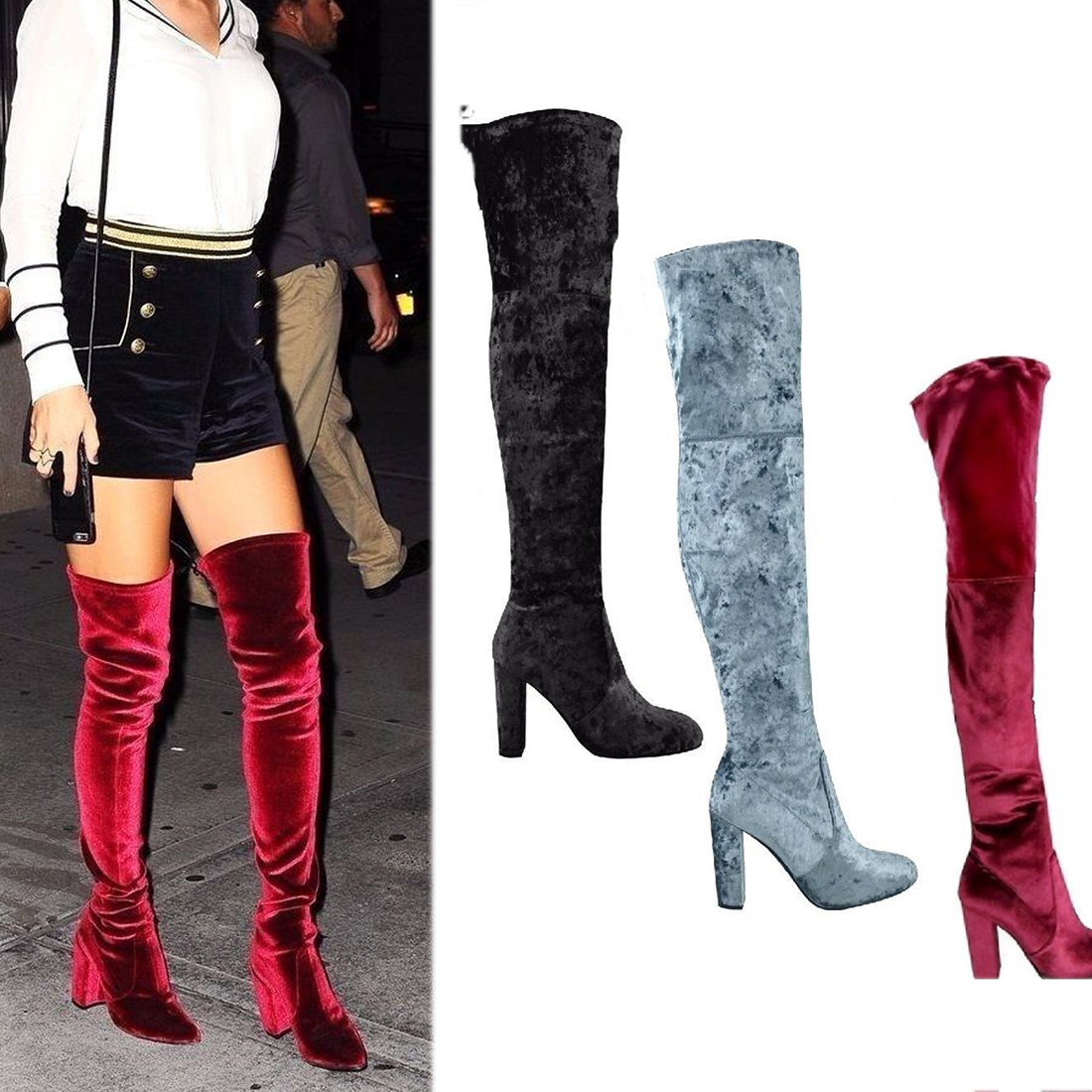 85aef8cc314e9 Detail Feedback Questions about boots women 2018 newest above the ...