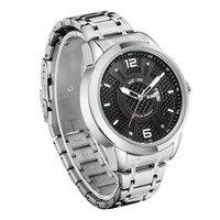 WEIDE Solar Men Steel Watch Fashion Business Sports Watches Men's Quartz LED Clock Man Army Military Wristwatches 30M Waterproof