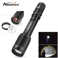 Alonefire H210 Flashlight ZOOM CREE XM L T6 LED Waterproof Lanterna LED 5 Modes Zoomable Torch