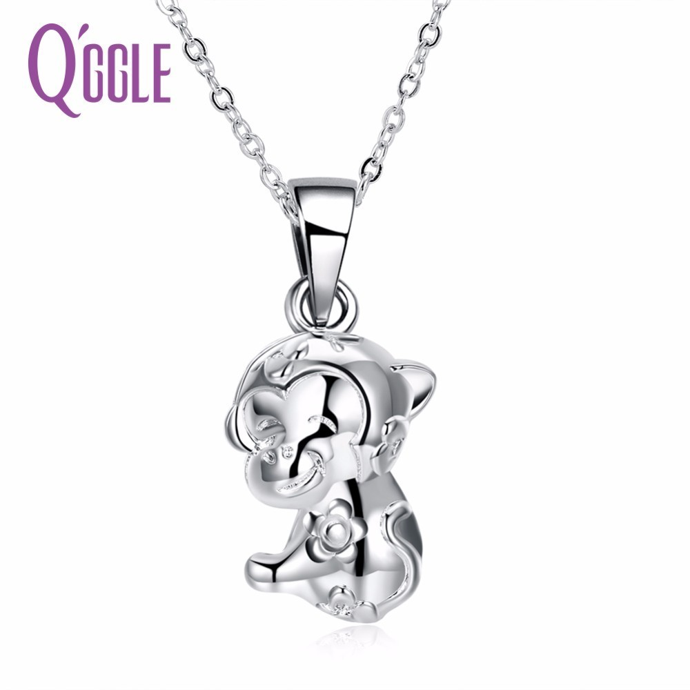 QGGLE Fashion Trend Chinese Zodiac Series Necklace - The Chinese Zodiac Monkey Nacklace For Women ...
