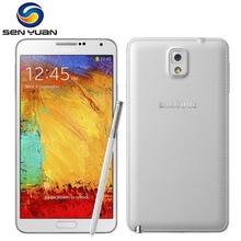 Разблокированный мобильный телефон Samsung Galaxy Note 3 N900 N9005, четырехъядерный 5,7 дюйма, 13 МП, 3 Гб ОЗУ, WIFI, GPS, note 3, сотовый телефон