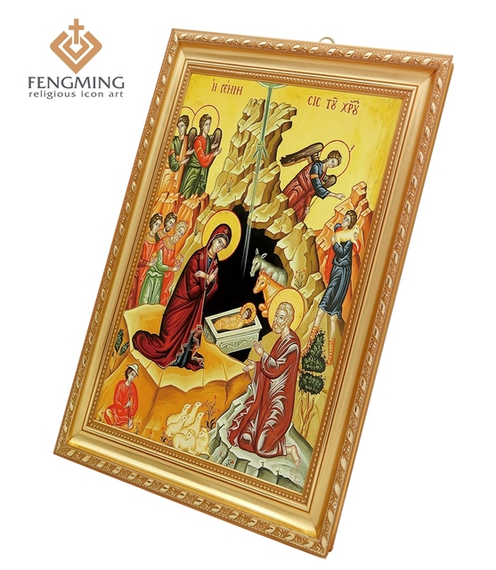 Religious Medals Cheap Photo Frames Nativity Christ Images Theotokos ...
