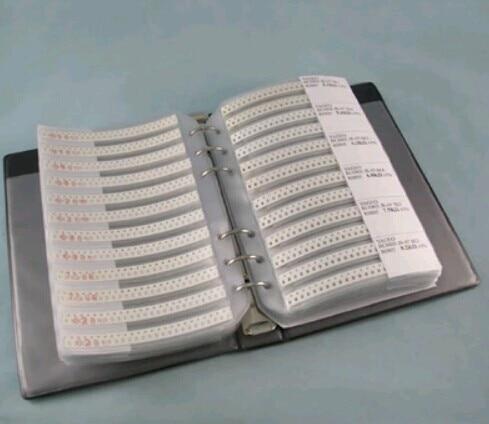 1206 smd Резистор Комплект образец резистора книга 1% 170 значения х 50 шт = 8500 шт Образцы комплект, Резистор Комплект