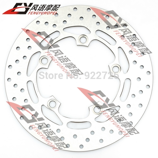 For Yamaha FZ6N FZ6 FZ6S FZ1N FZ1S FZ1 Motorcycle after back rear brake disc plate rear brake disc rotor for yamaha fz1 non abs 06 09 fz6 naked non abs 04 07 fz6 ns naked 05 06 motorcycle