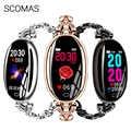 SCOMAS Модные женские Смарт-часы SE68 0,96
