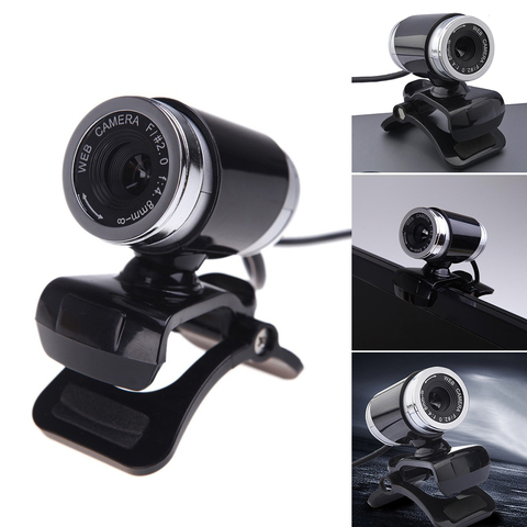 HD 12 Megapixels USB 2.0 Webcam Camera with MIC Clip-on for Computer PC Laptops Multan