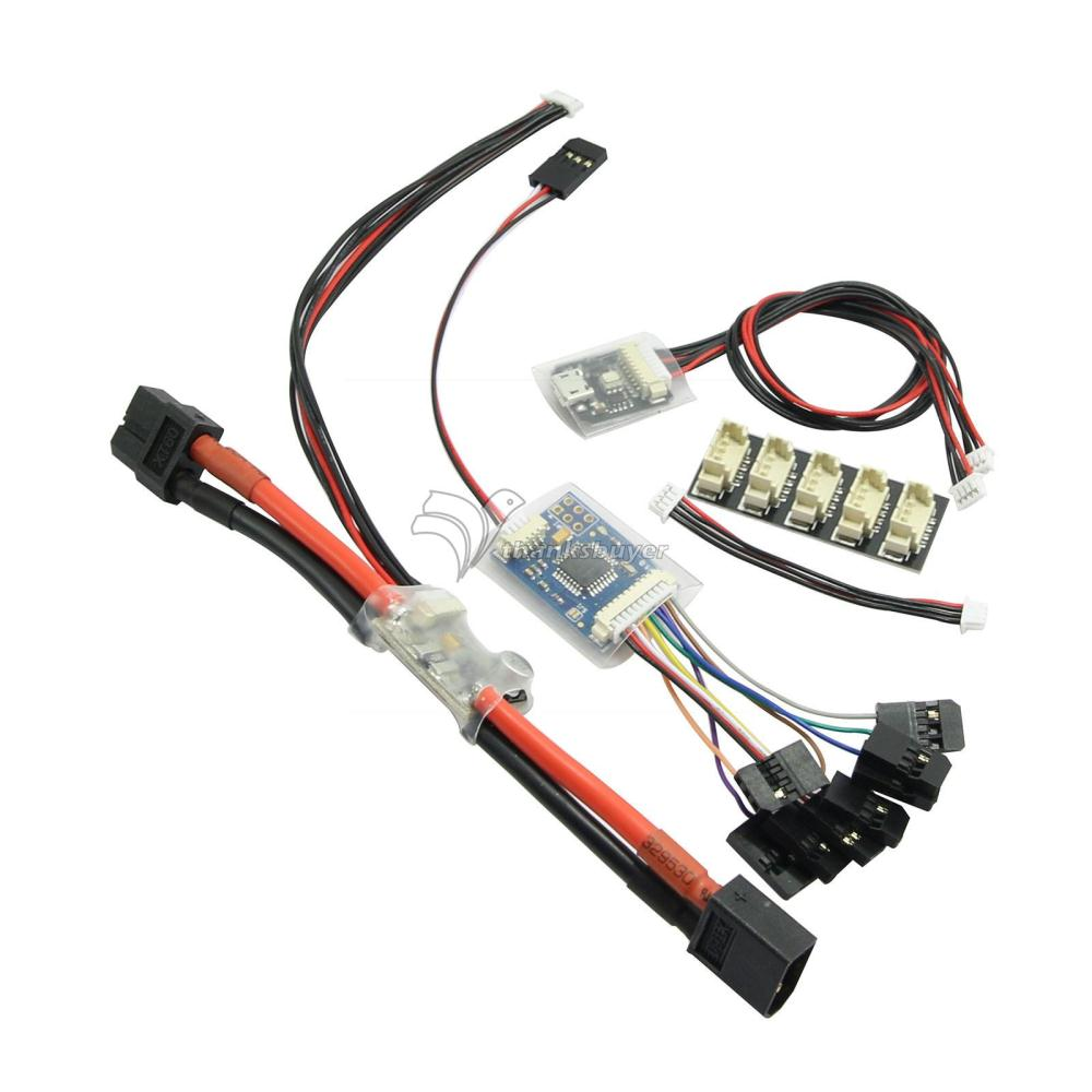 Power Supply Module PPM Encoder LED Indicator I2C Splitter Expand for Pixhawk Flight Controller