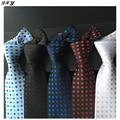 Бренды мужские модные галстуки бизнес-полиэстер шелковые галстуки для dot мужчины галстук повседневную одежду старинные галстук платок B039
