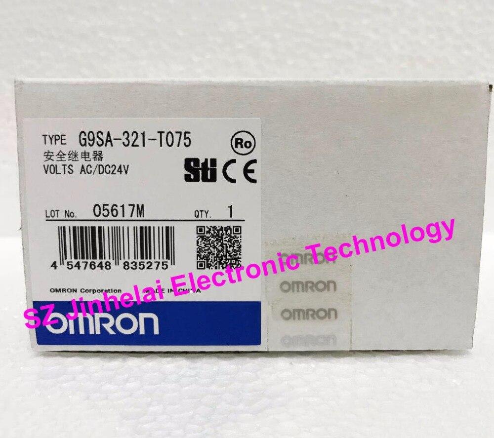 OMRON G9SA-321-T075 New and original Safety relay AC/DC24V new and original g9sa 301 ac dc24v omron safety relay unit